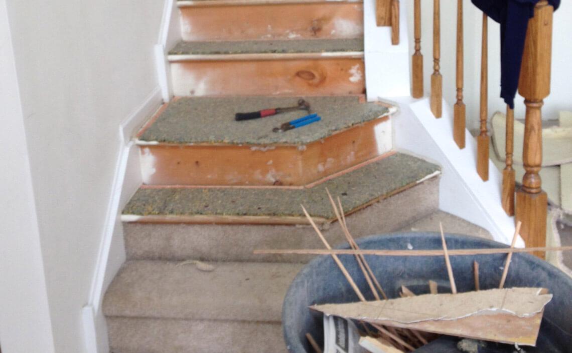 Before Amp After Wood Flooring Home Makeovers Danhiggins Com